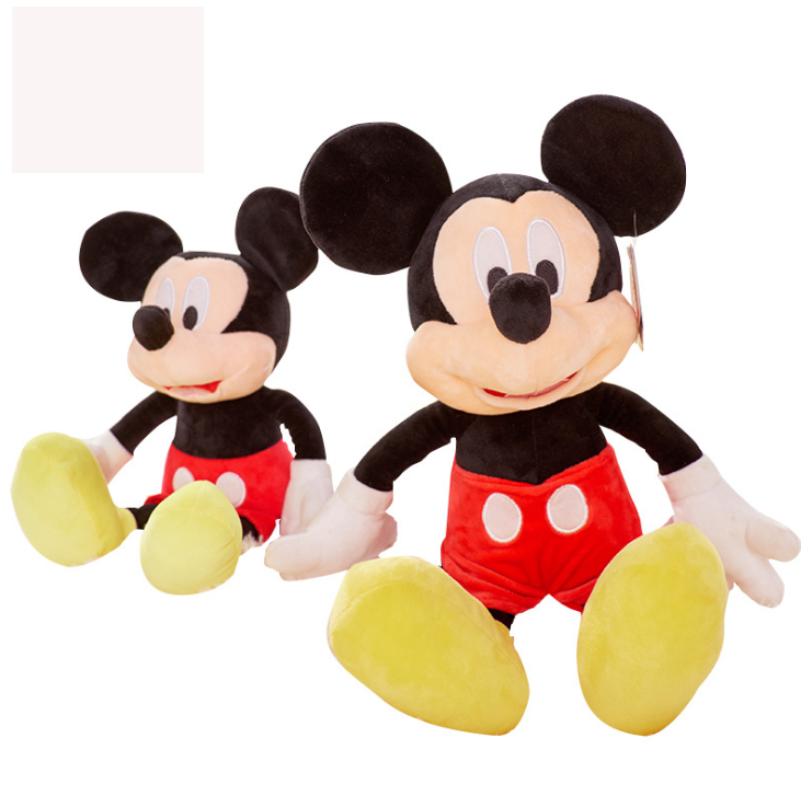 Hot Selling Customize Soft Kawaii Mickey Mouse Plush Toy For Kids