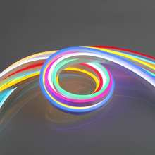 2019 New led neon flexible strip 12v 24v Silicone flexible 6*12mm top view led neon flex light ip67