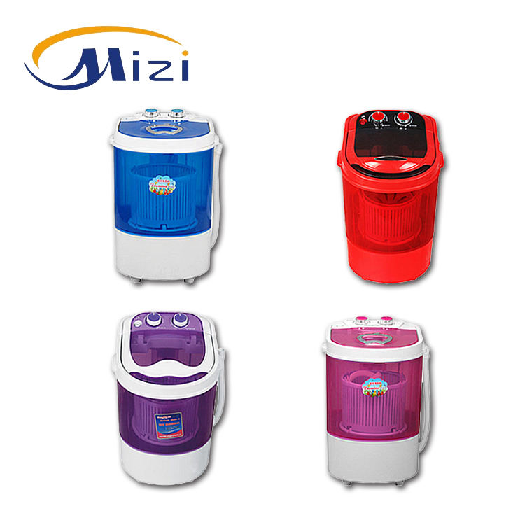 Hot selling 2KG Mini small portable single tub semi-automatic washing machine with CE