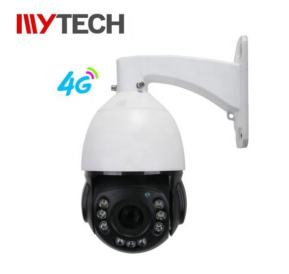 4G IP camera AI human detection tracking starlight dome PTZ camera