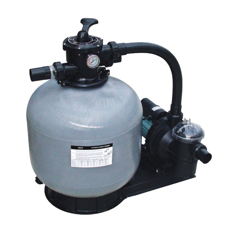 EMAUX FSF350-6w swimming pool spa top mount sand filter with pool pump