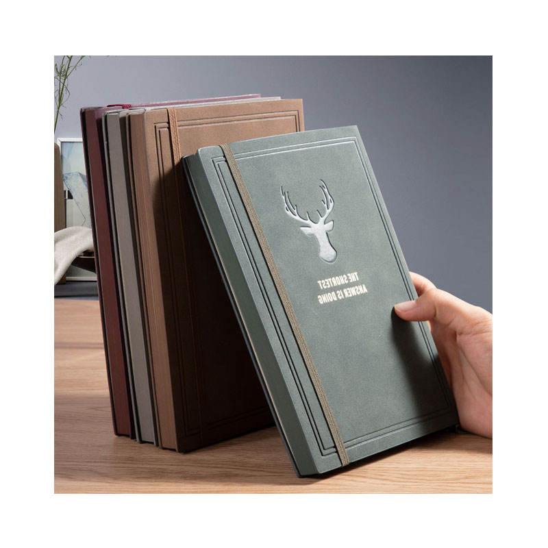 Journal Printing Custom Hardcover Leather Vintage Notebook