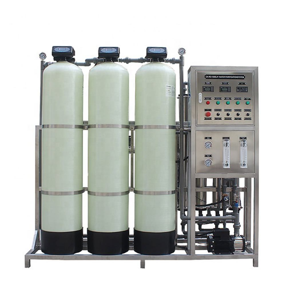 4x40 reverse osmosis membrane housing purification system domestic free installation alkaline water Treatment quick filter
