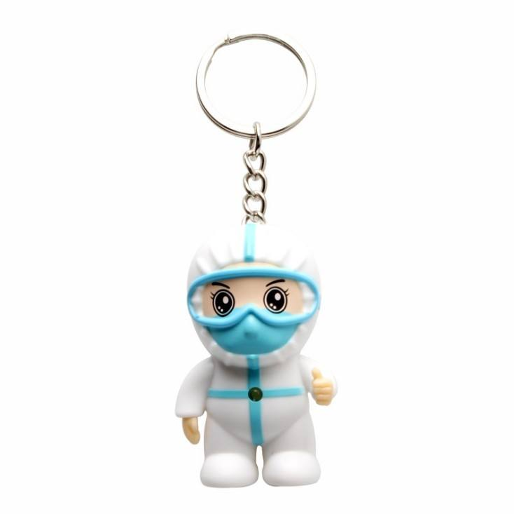 Cartoon Mini Nurse's Day Doctor's Day Gift White Angel Key Chain Souvenir Key Chain Pendant