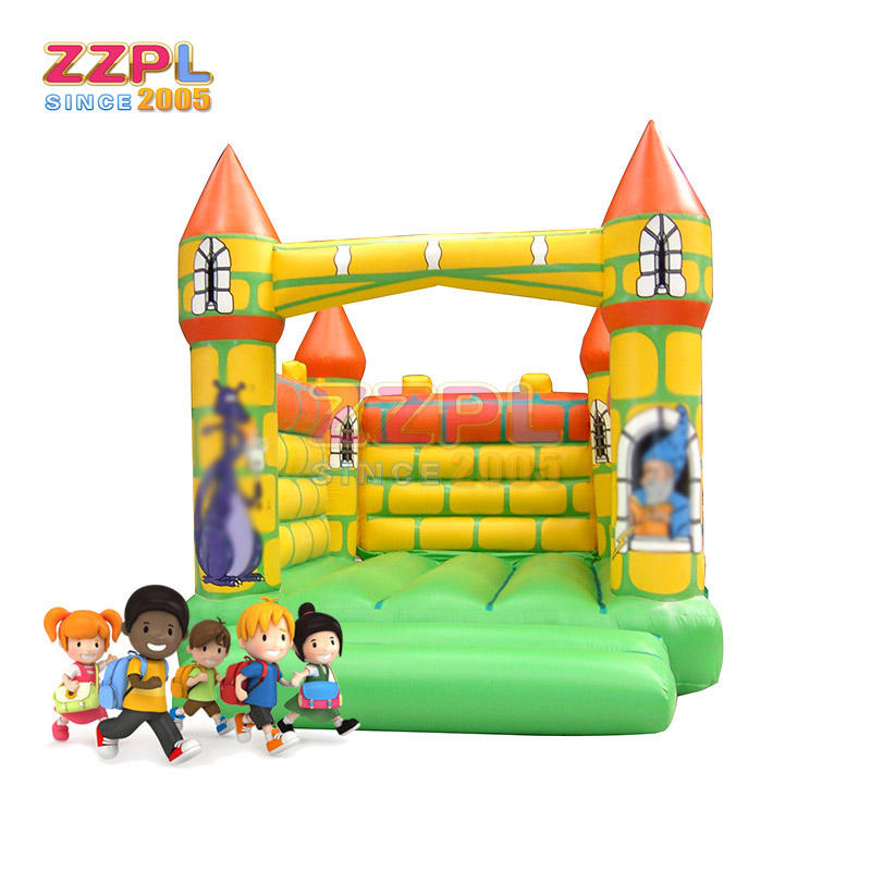 Professional kids play commercial inflatable bounce jumping castle for sale cartoon design inflatable trampolines house
