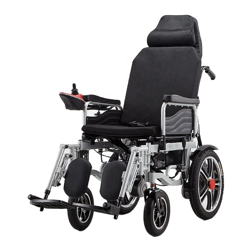 Electronic wheelchair folding handicapped electric wheelchair_wheel chair