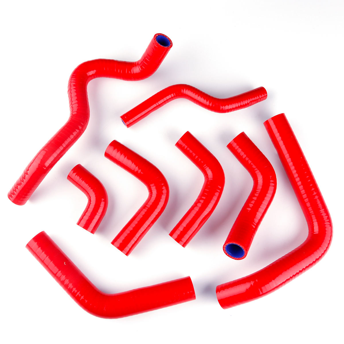 For 2003 2004 2005 2006 DUCATI 999//749//749R Red Silicone Radiator Hose Kit