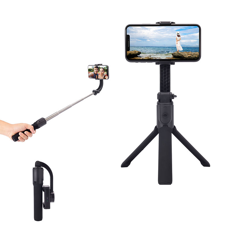 Buy One Axis Gimbal Stabilizer Bluetooth Remote Control Tripod With Anti shaking Automatic Balance Gimbal Tripod