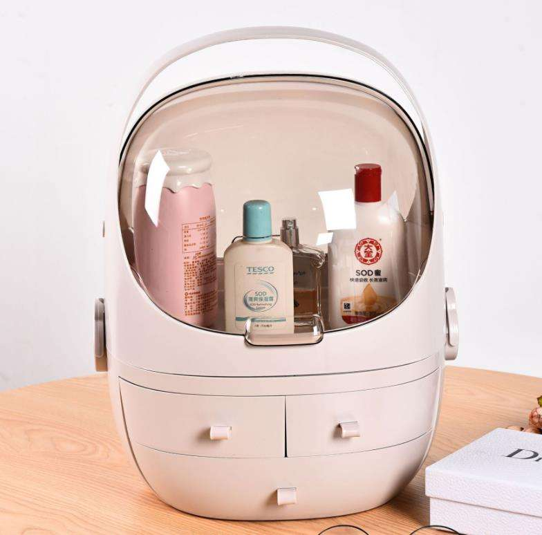 Makeup Organizer Cosmetics Storage Box case professional Skin Care Jewelry Storage Space capsule Drawer