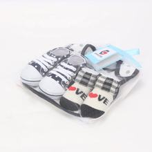 Wholesale hot sale infant cute soft baby cotton baby sock shoes