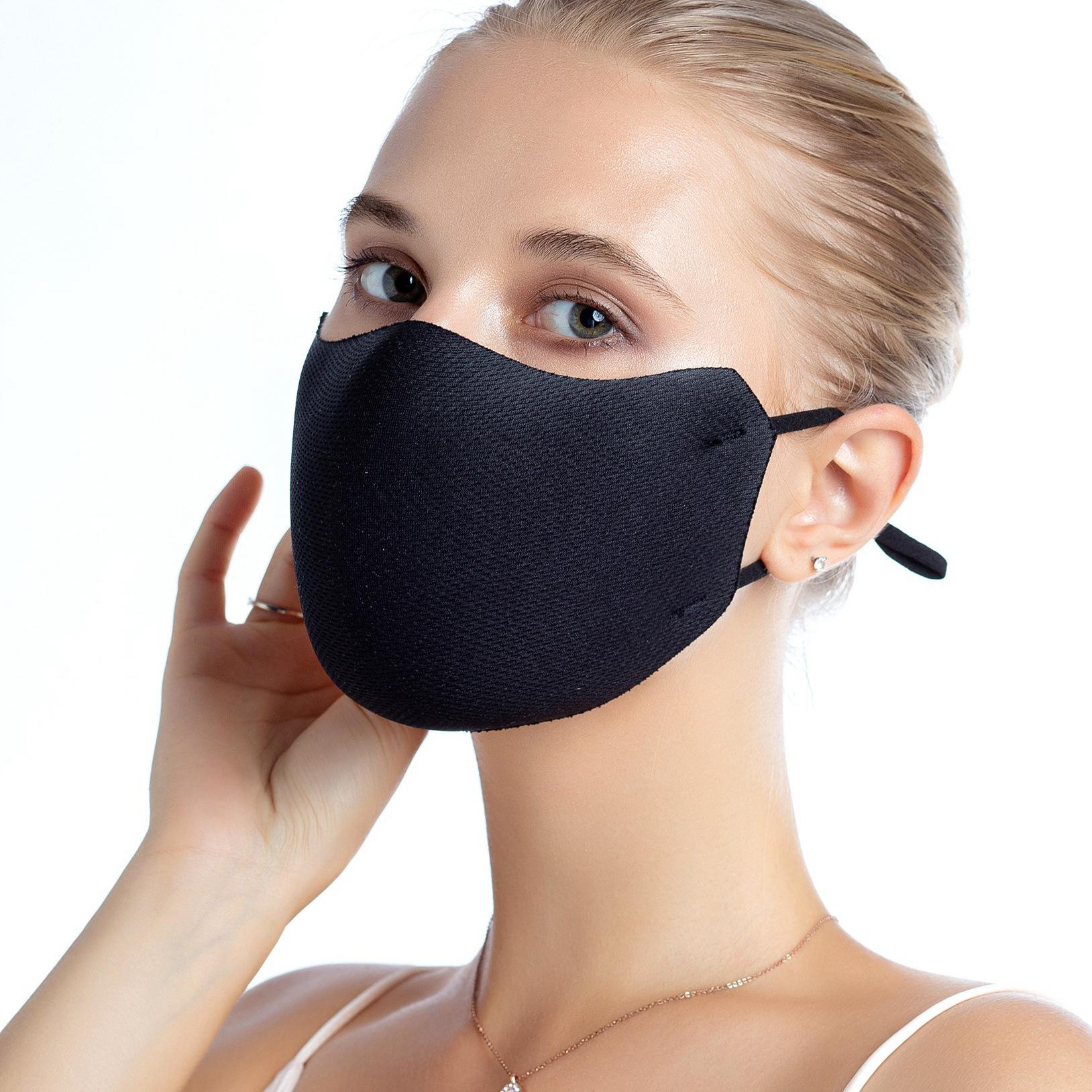 European and American fashion sponge 3D mouth masksr can be cleaned dust - proof and fog - proof guard