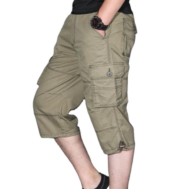 Mens High Quality Multi Pockets Cargo Shorts Wholesale Cotton Short Cargo Shorts For Men