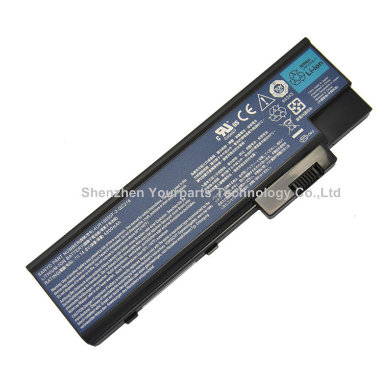 FS Model Aspire 7000 laptops prices in china 4UR18650F battery for ACER Aspire 1410 1640 1650