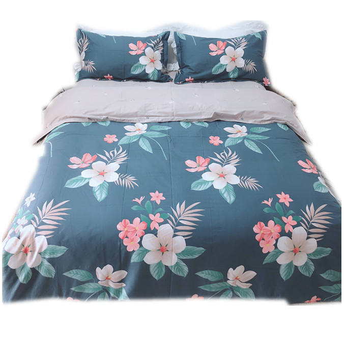 Luxury designer Home Textile Duvet quilt Cover bedding sets, 100% polyester microfiber 3D Queen/king size printed bed sheets.