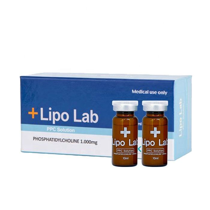 Korea Lipolab body slimming injection lipo lab ppc lipolytic solution lipolysis injection for fat dissolve