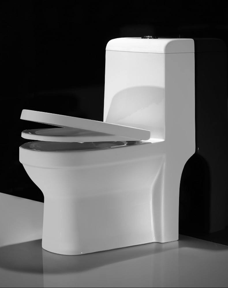 Siphonic custom one piece S-trap sanitary ware bathroom wc toilets elongated bowl