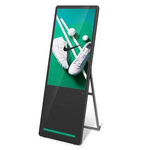 Refee portable digital poster lcd signage android kiosk smart advertising players screen board digital signage and displays