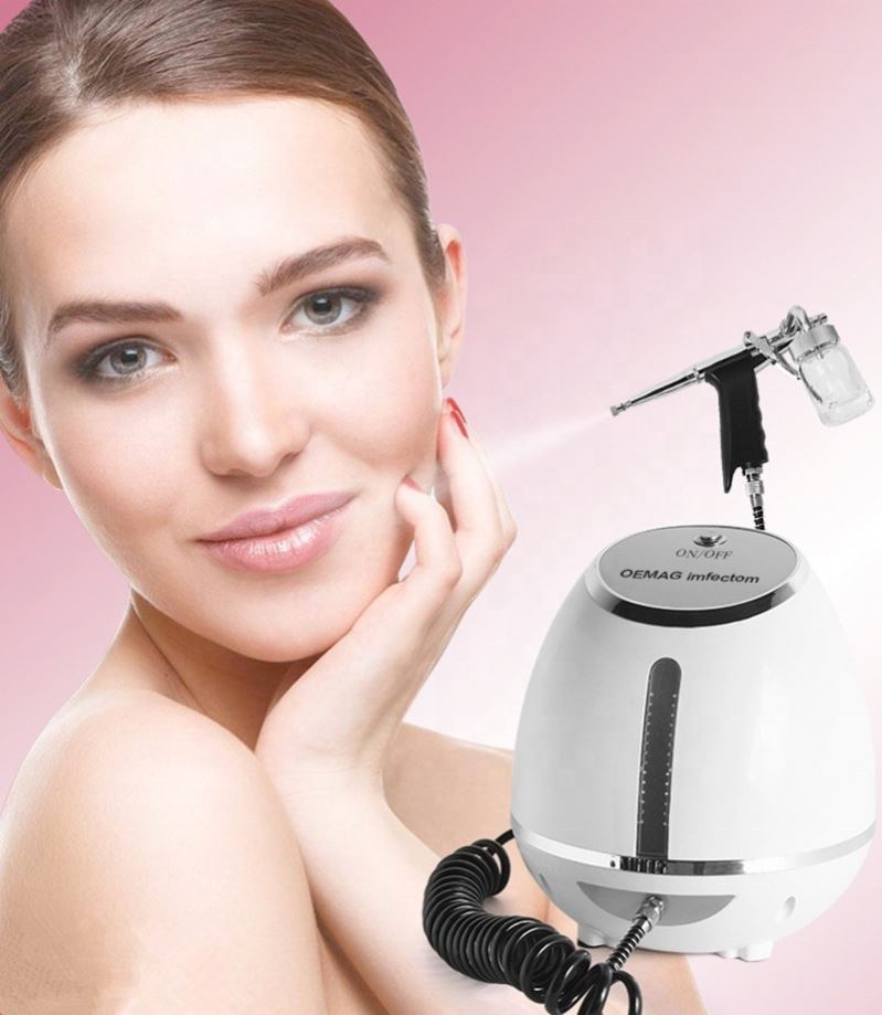 Professional Mini Oxygen Jet Peel Skin Rejuvenation Oxygen Injection Spray Gun