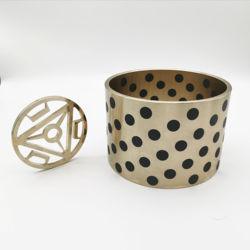 SANLONG oil-free bush ultra-thin graphite copper sleeve self-lubricating bearing copper pro sleeve bronze bushing MPBZU18-40
