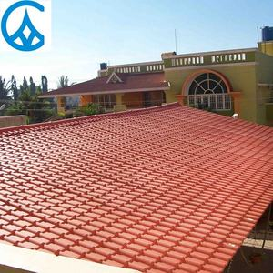 Fire Resistant Buildings Materials Spanish Design ASA Roof Tile Plastic Corrugated Roof Tile Pvc Roof Shingles