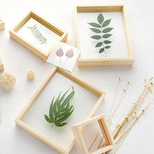 Custom sublimation wood box eco-friendly fashionable wood frames for pictures