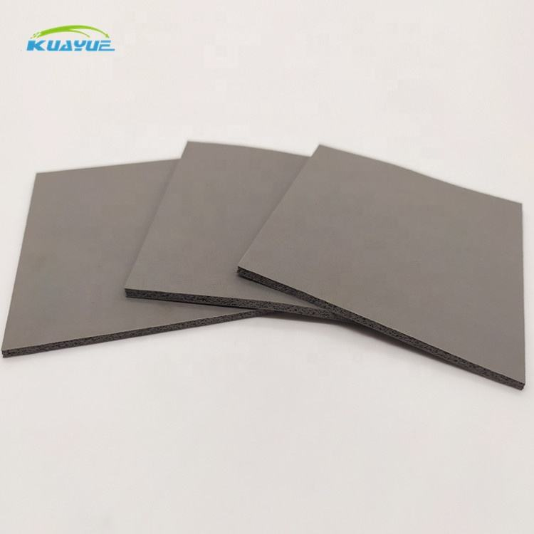 thermal conductive silicone pad review Red Silicone Waterproof Foam Rubber Foam Sheets Insulation Roll Sheet 1mm