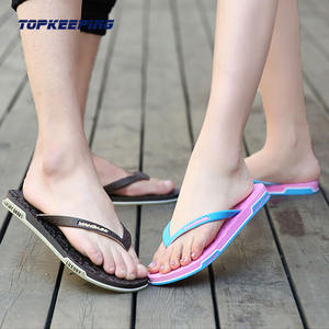 2E0044 New Arrival Customizable PE PVC Adult Footwear Flip Flop for Man