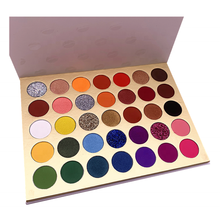 low moq cruelty free no logo custom makeup vendors wholesale private label eyeshadow palette