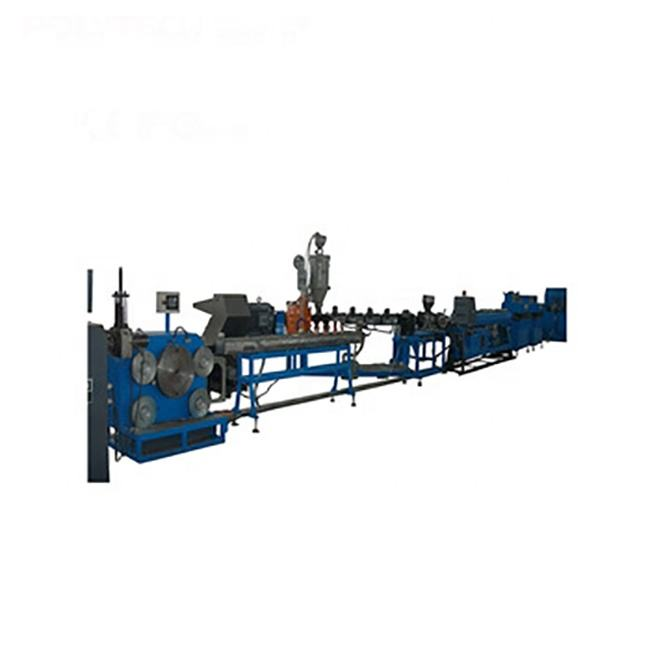 HDPE Plastic Inline Flat Drip Irrigation Pipe Making Machine /Production Line For Garden