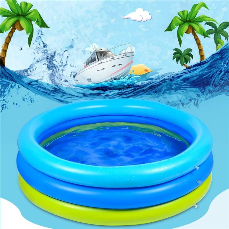 Summer Happy Play Kids Swimming Pool Float Inflatable Pool Kids Plastic Water Pool for Kids Outdoor
