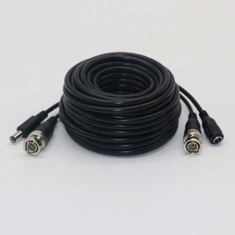 New Product 10M/32.8ft BNC Video Power Cable for CCTV 2MP/5MP AHD/TVI/CVI/ CVBS Security System Security BNC Cable