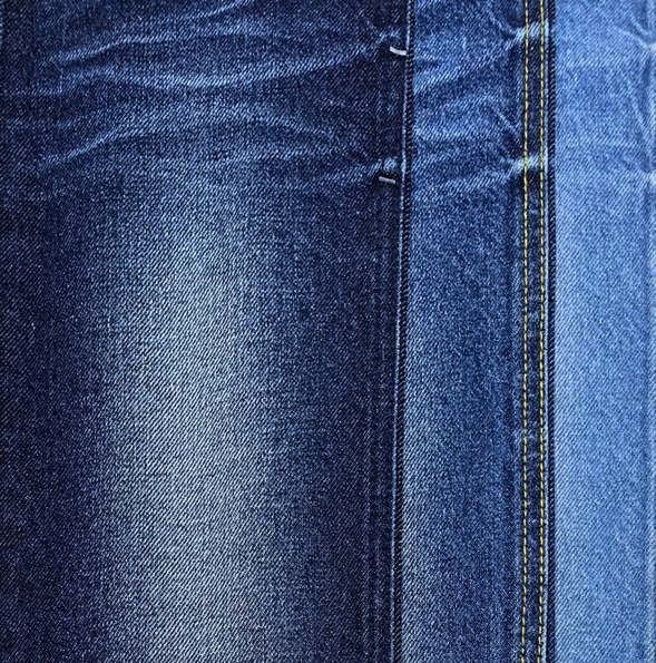Good stretch 10.oz indigo jeans denim fabric factory hot selling with good price