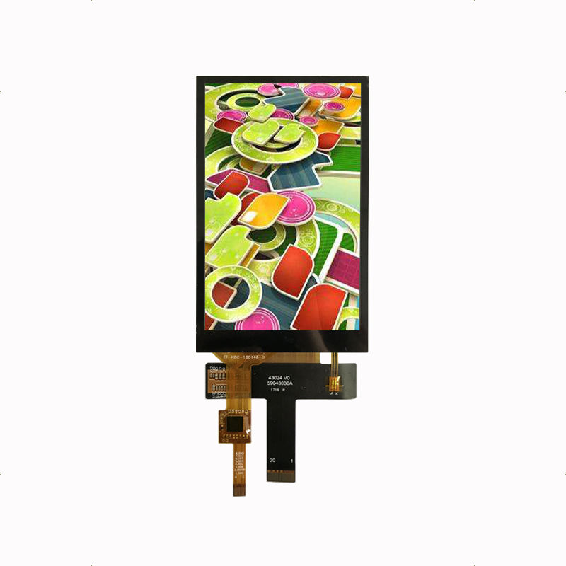 4.3 inch 480*800 lcd display touch screen MIPI interface full viewing angle IPS LCD with build-in capacitive touch screen