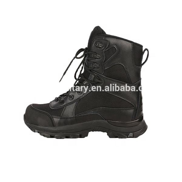 Exquisite craft military combat boots heels with high quality best army combat boots with zipper cute combat boots China
