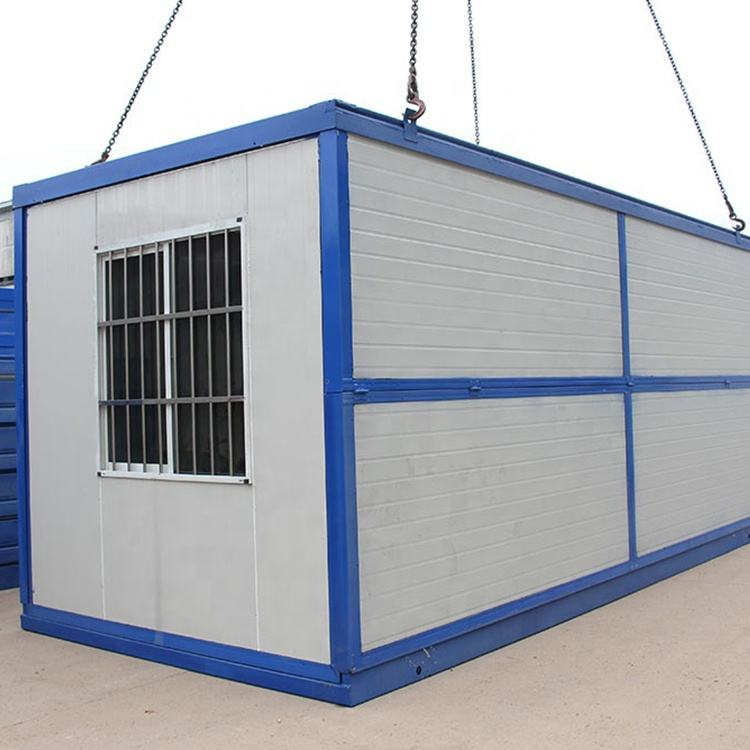 Factory Direct Supply Sandwich Panel Portable Foldable Container House With Ce Certificate Foldable Site Office
