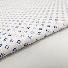 Skygen wholesale cotton fabric in bulk good design printed silky sateen  shirting fabric