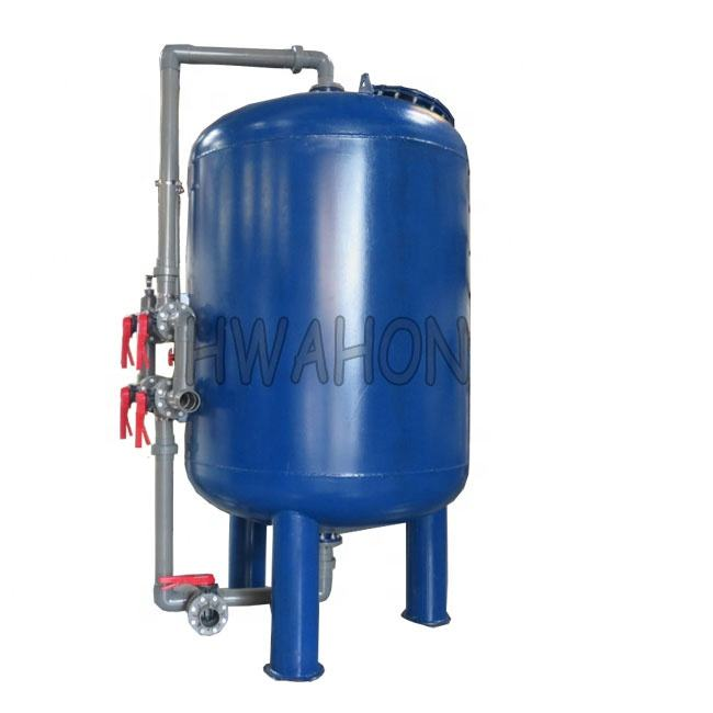 Carbon steel sand filter /multimedia Filter/Presure Filter tank for liquid treatment plant nozzle sand