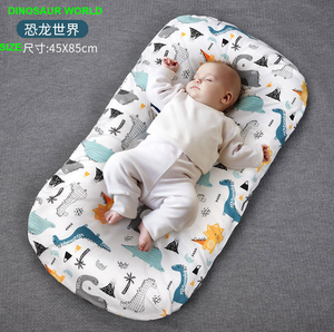 Super soft cotton baby snuggle nest sleeping bed