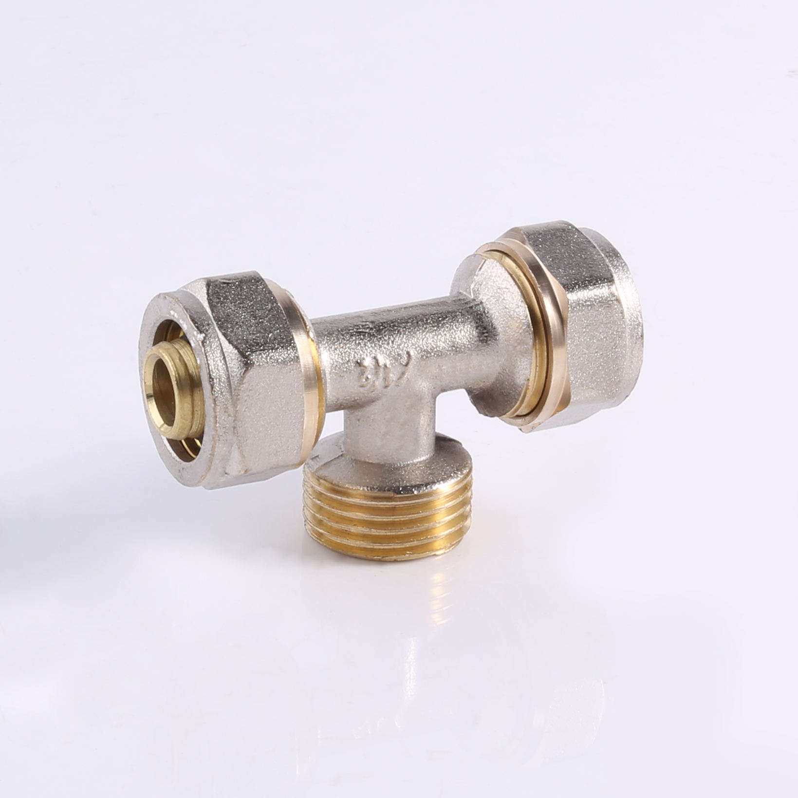 PEX pipe brass fittings pipe yellow Color Female elbow brass compression fitting brass tap