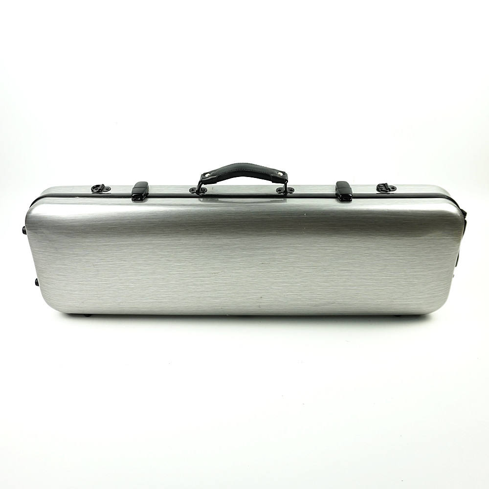 Factory wholesale price oblong violin case carbon fiber violin hard case violin case 4/4 VF-05