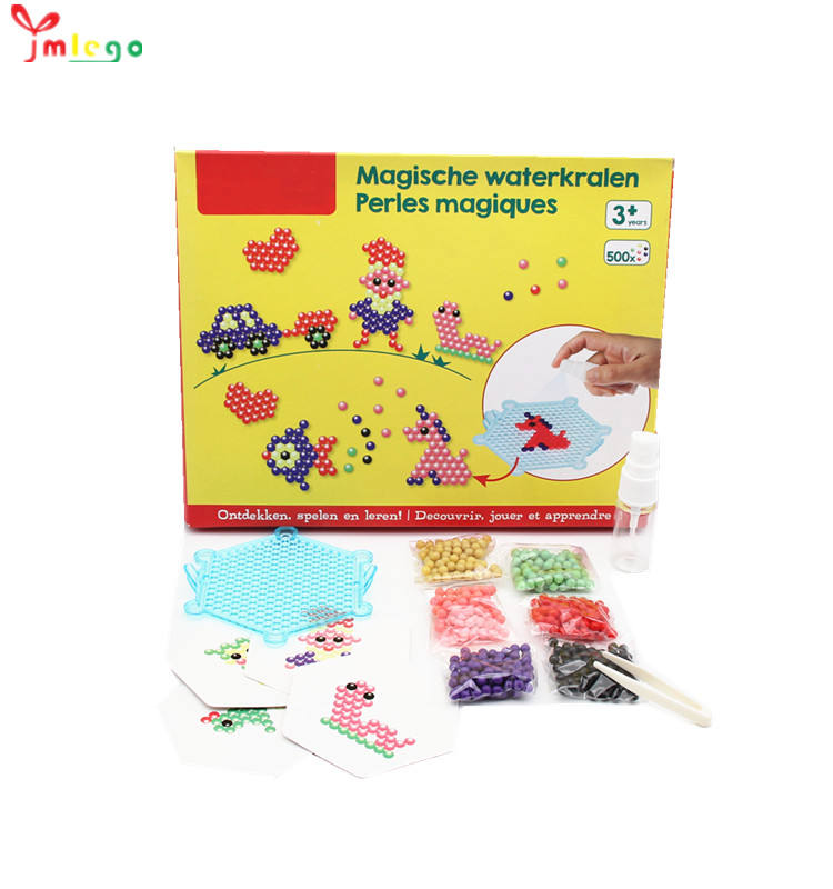 DIY educational toys magic Water beads Toy 3D DIY Water sticky beads Set Toy For Kids