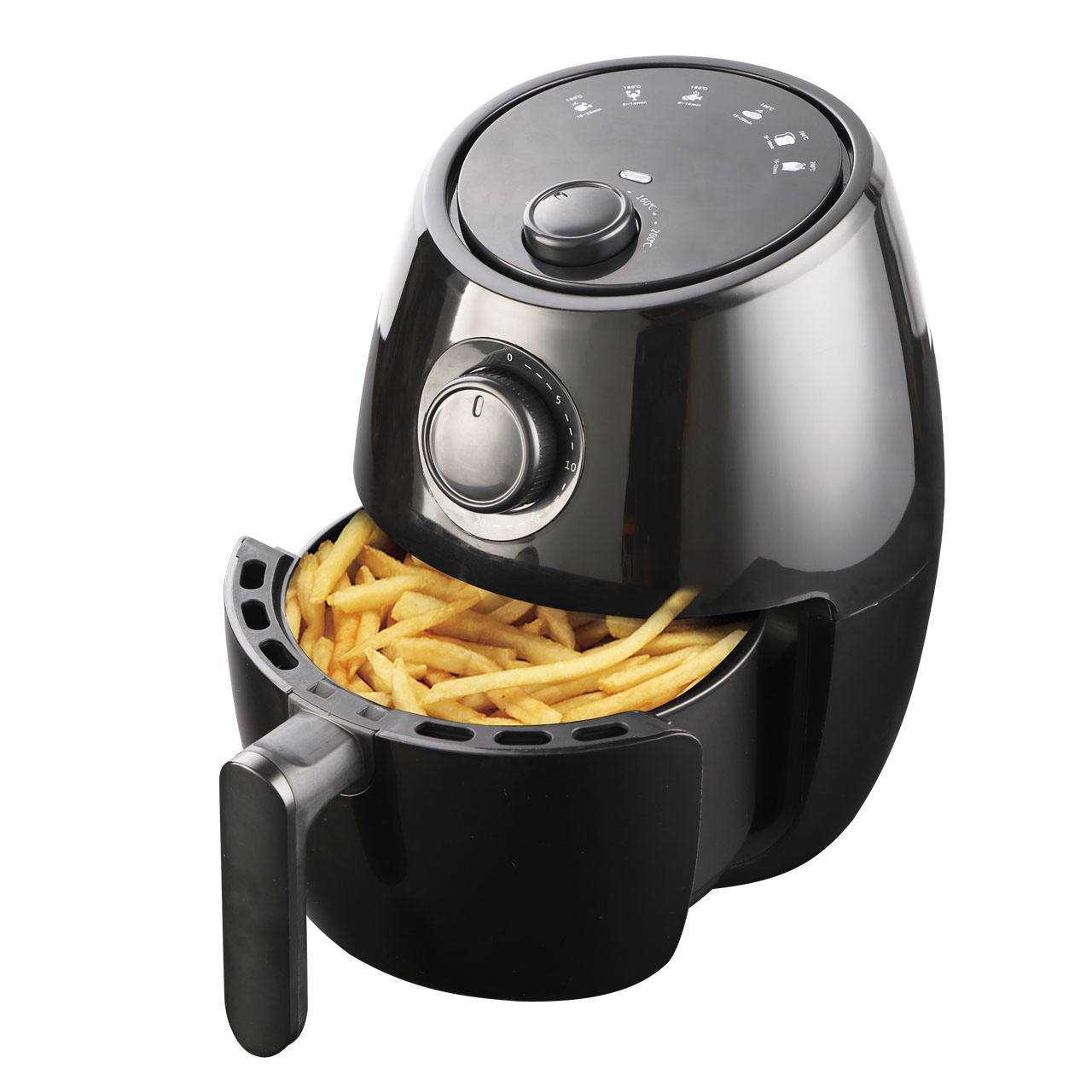 2.0L mini air fryer frying food without oil fast food frying machine