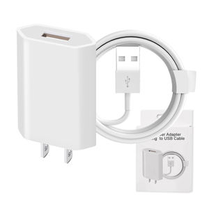 5v 1.5a 1a Mobile small Travel Adapter Smart Fast Micro Wall Plug Phone Android Usb Charger
