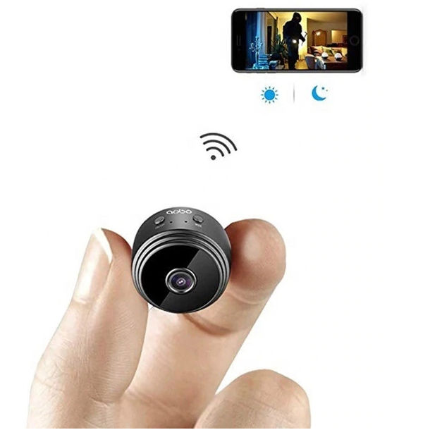 2020 New products Video Indoor Home mini small IP CCTV Spy Hidden 1080p wifi camera