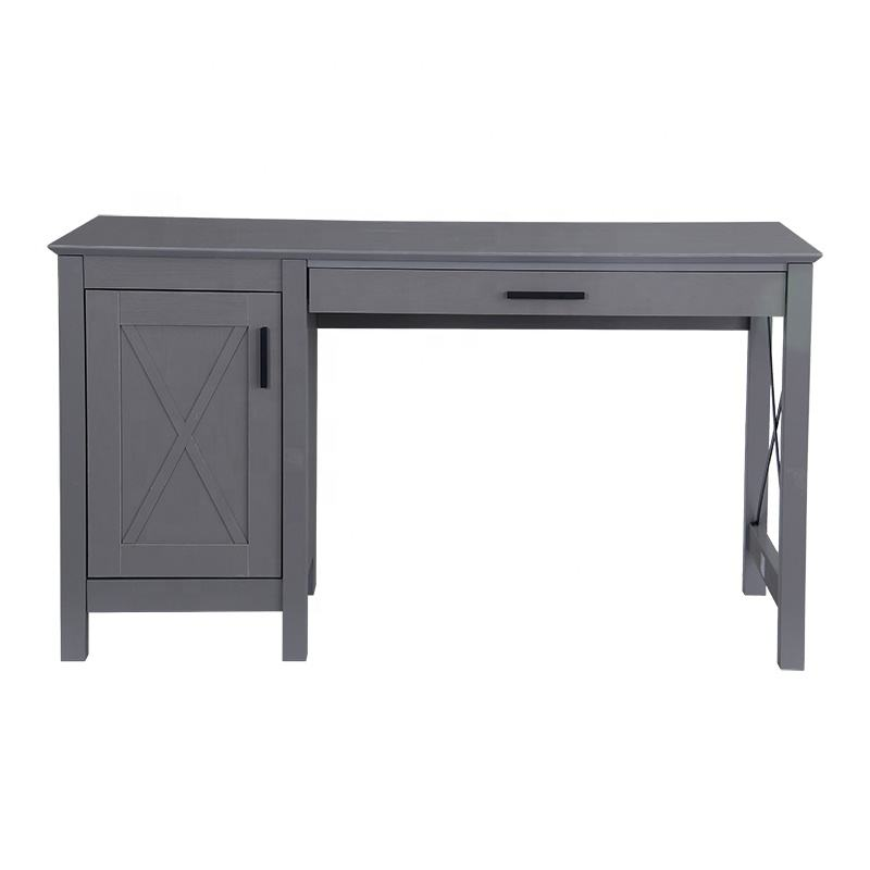 Hot Sale Industrial Style Furniture Table Stain Resistance Office Flat Pack Computer Desk