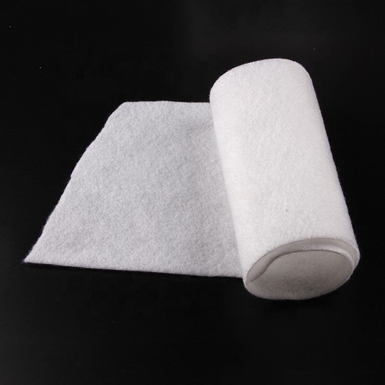 Top Grade Low Price Needle Punched Pet Non-Woven Fabric Electrostatic