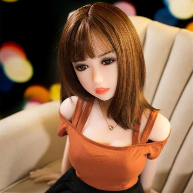 Real human body temperature mini sex toy young girl adult silicone doll sex doll