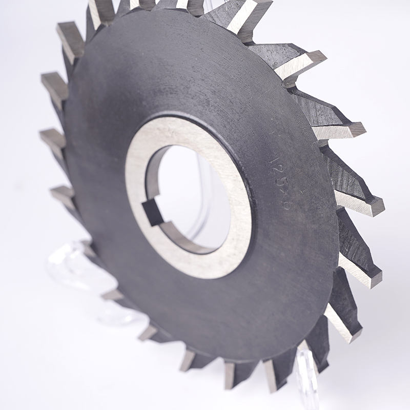 M2 High Speed Steel Three-side milling cutter saw blade