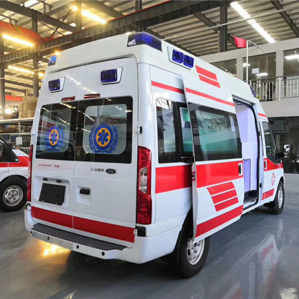 2020 hot sale Unit in stocks V348 Hospital emergency Ambulance Car for quick delivery