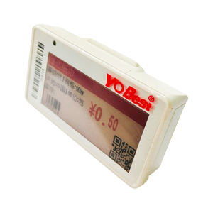 Plastic Electronic Shelf Talker Digital Price Tag Labels Holders